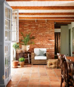 terracotta - Interior design trends 2017