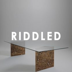 wood and glass tables