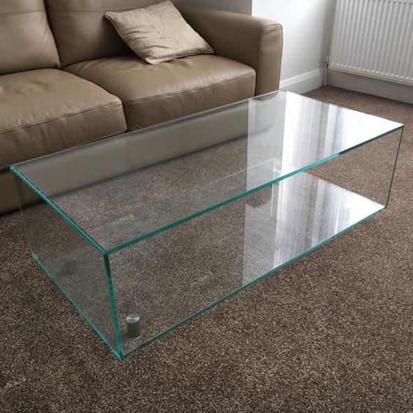 bespoke glass furniture classic