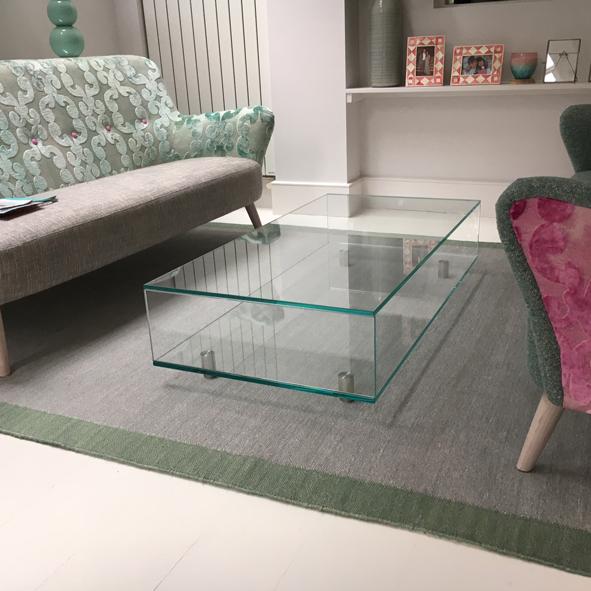 classic bespoke glass furniture