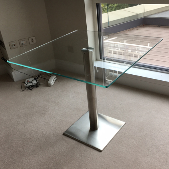 bespoke glass furniture elements