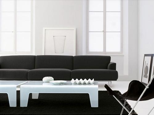 monochrome furniture