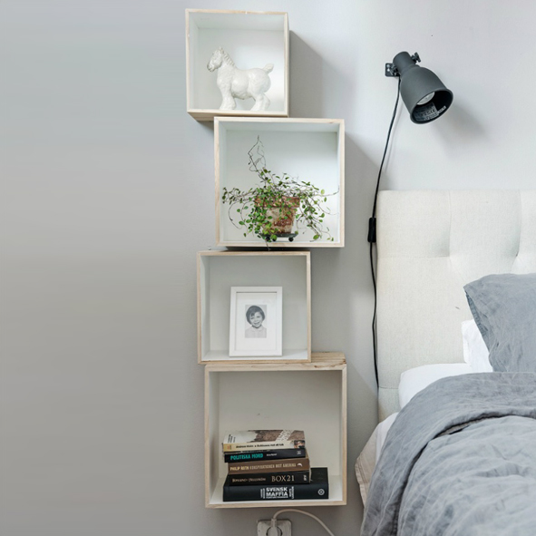 small bedroom storage ideas box