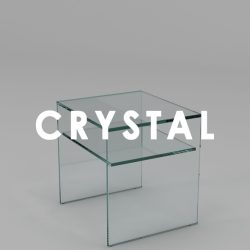 crystal side tables