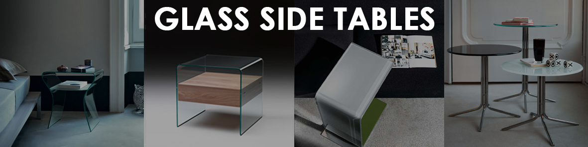 Glass Side Tables Banner