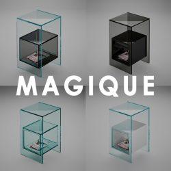 magique glass furniture