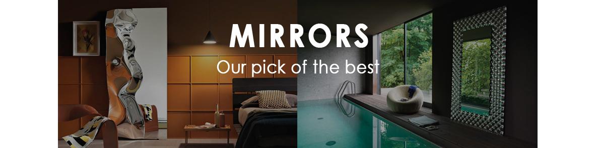mirrored glass furniture