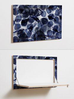 Plywood Desk - Interior Design Trends 2018