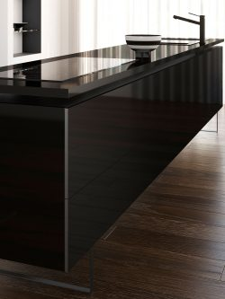 Black Kitchen Worktop - Interior Design Trends 2018