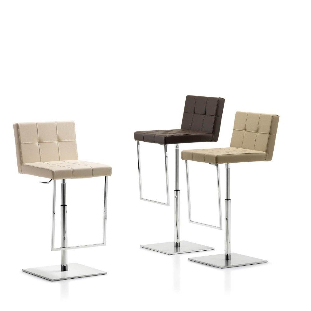 Fantastic Penny Leather Bar Stool Inzonedesignstudio Interior Chair Design Inzonedesignstudiocom