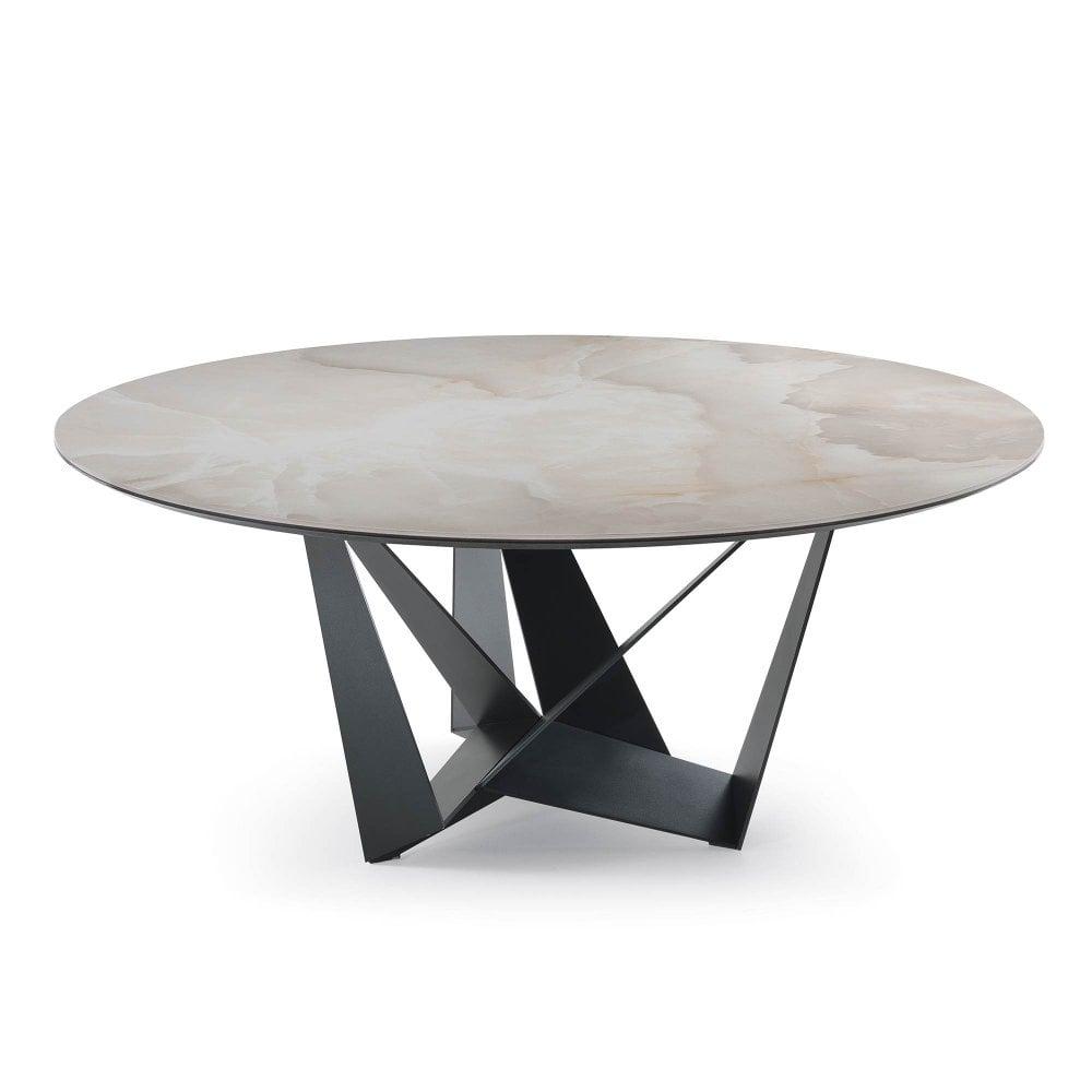 Cattelan Italia Skorpio Keramik Round Dining Table