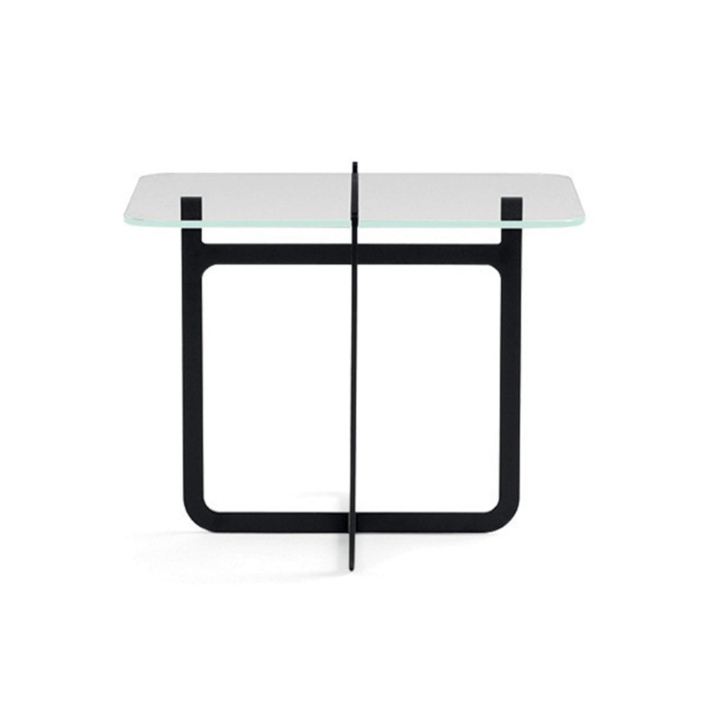 Clip coffee table tall black