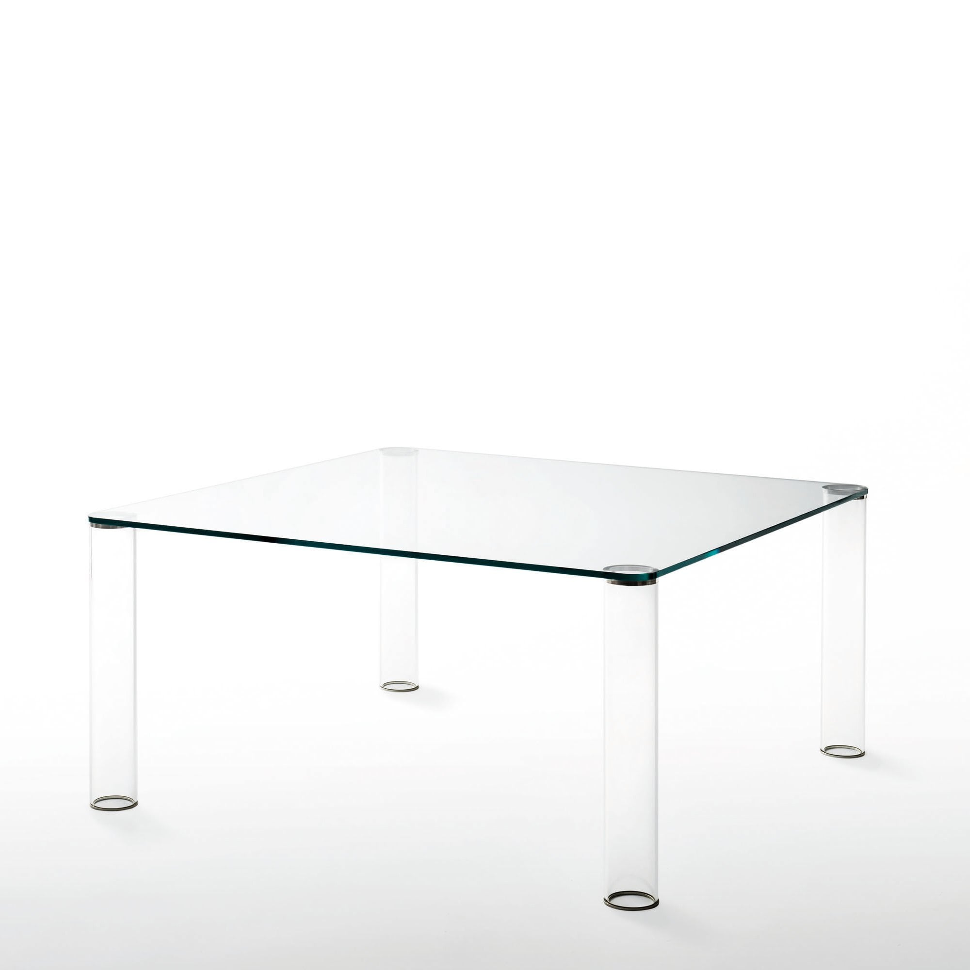 Pipeline Dining Table Square By Glassdomain Co Uk