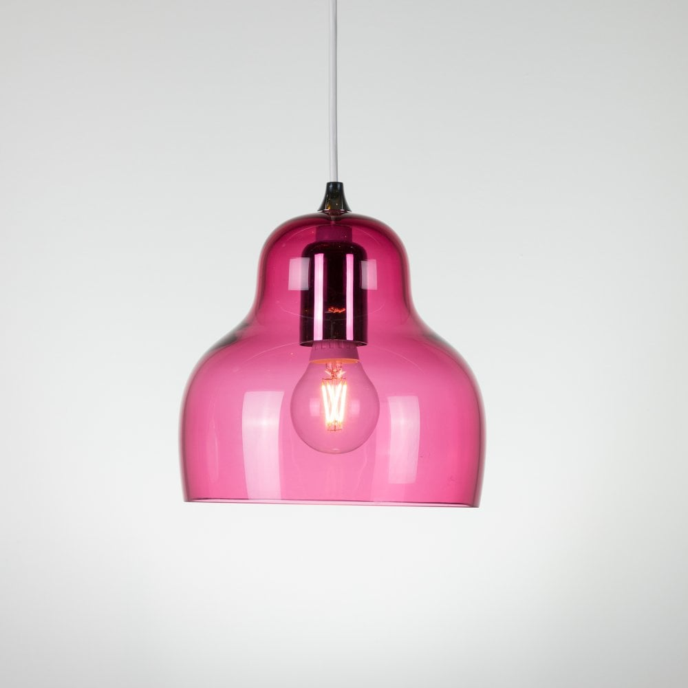 Jelly pendant light red