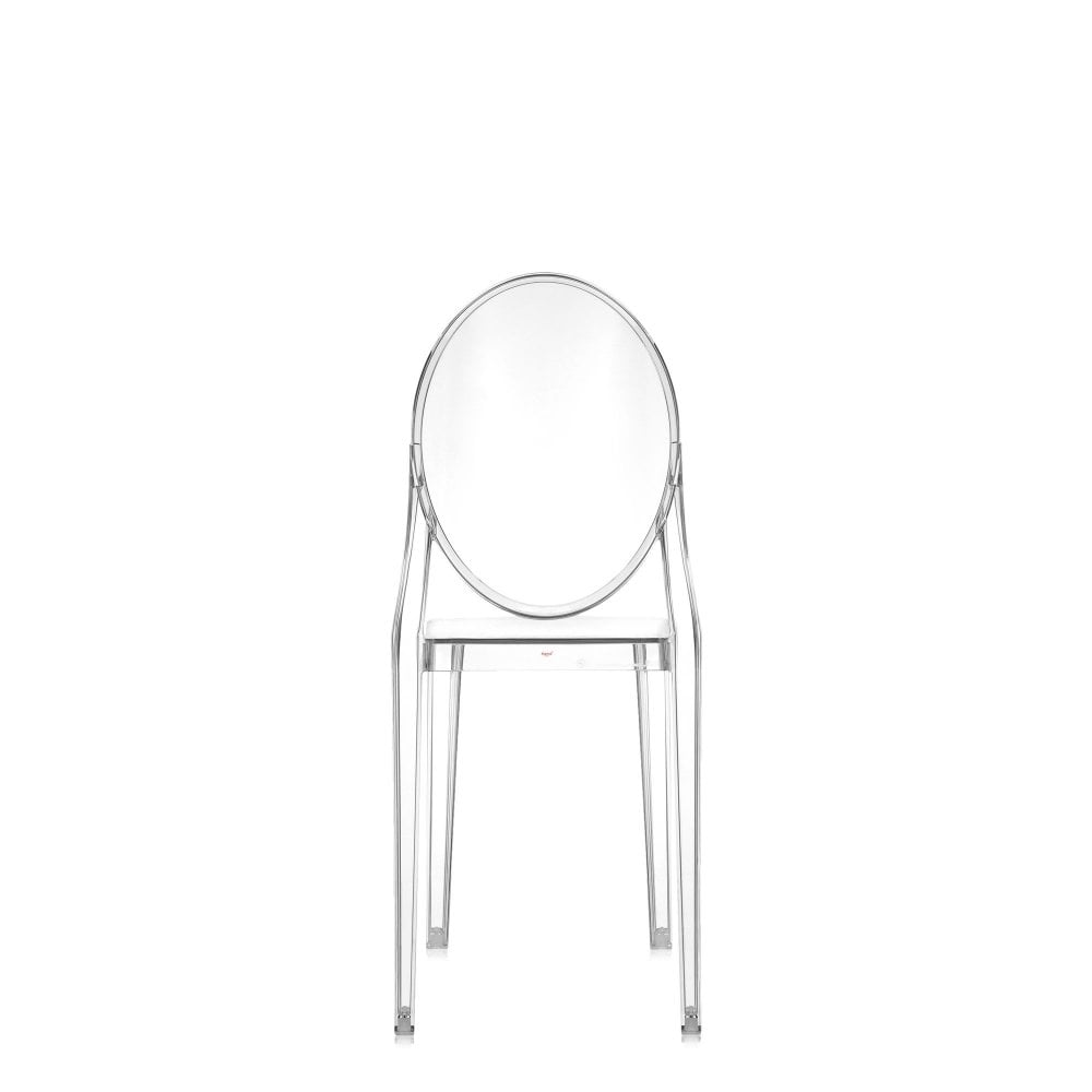 Victoria Ghost Dining Chair - Transparent