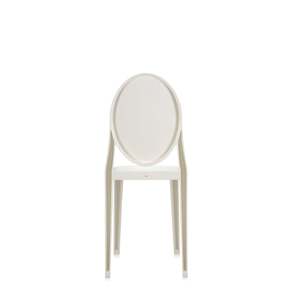Victoria Ghost Dining Chair - White