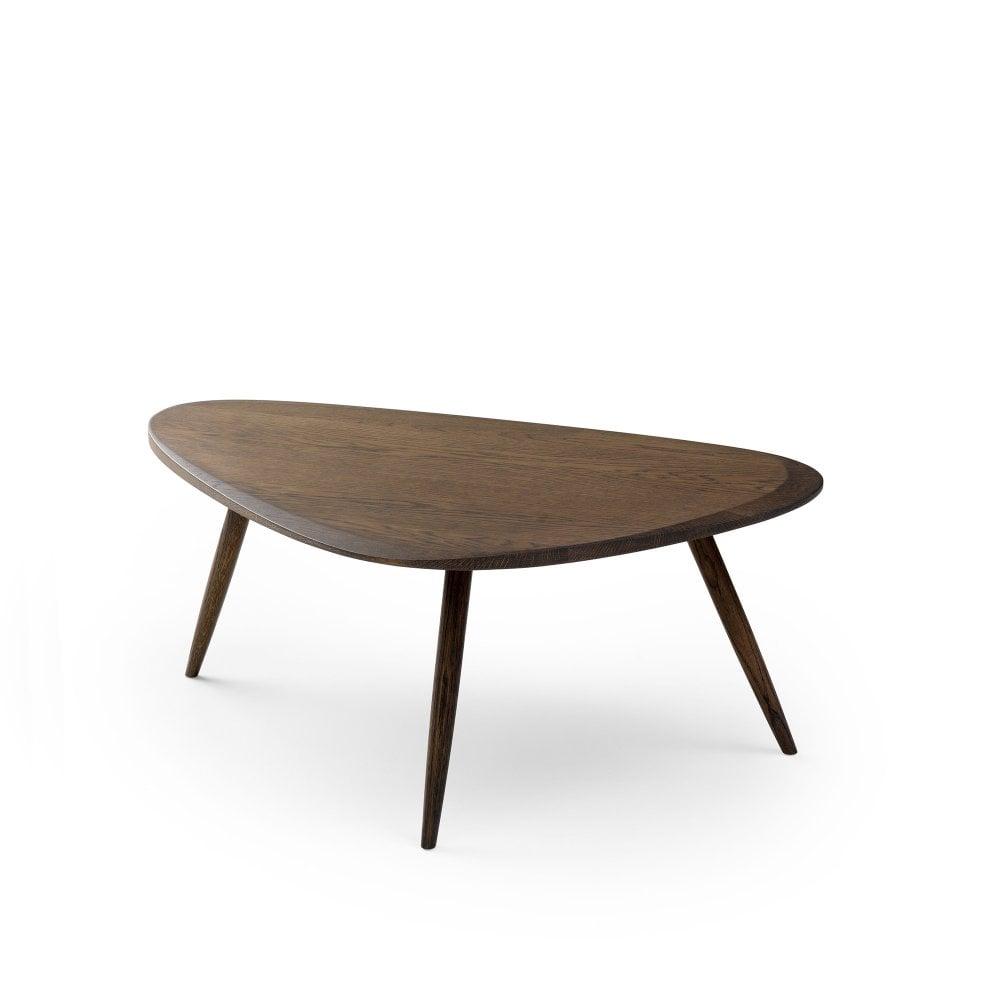 Leolux Large Iduna Coffee Table Dark Oak