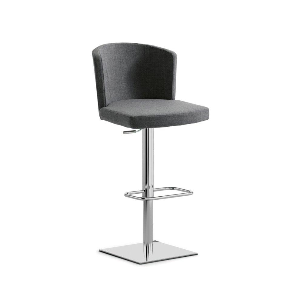 Tremendous Doris S Bar Stool Black And Chrome Dailytribune Chair Design For Home Dailytribuneorg