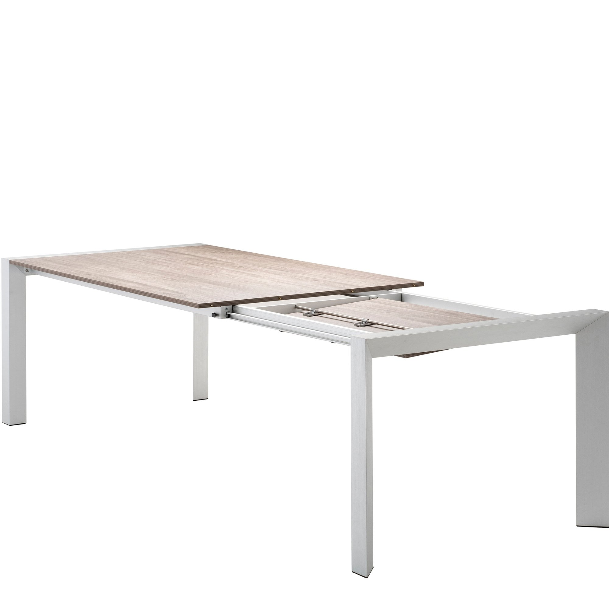 Henry Extending Dining Table By Glassdomain Co Uk