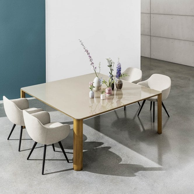 Sovet Italia Kodo Glass Dining Table