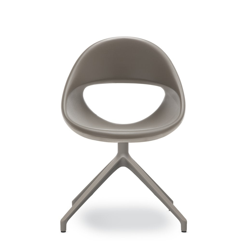 Pleasing Lucky Swivel Dining Chair Dark Grey Ncnpc Chair Design For Home Ncnpcorg