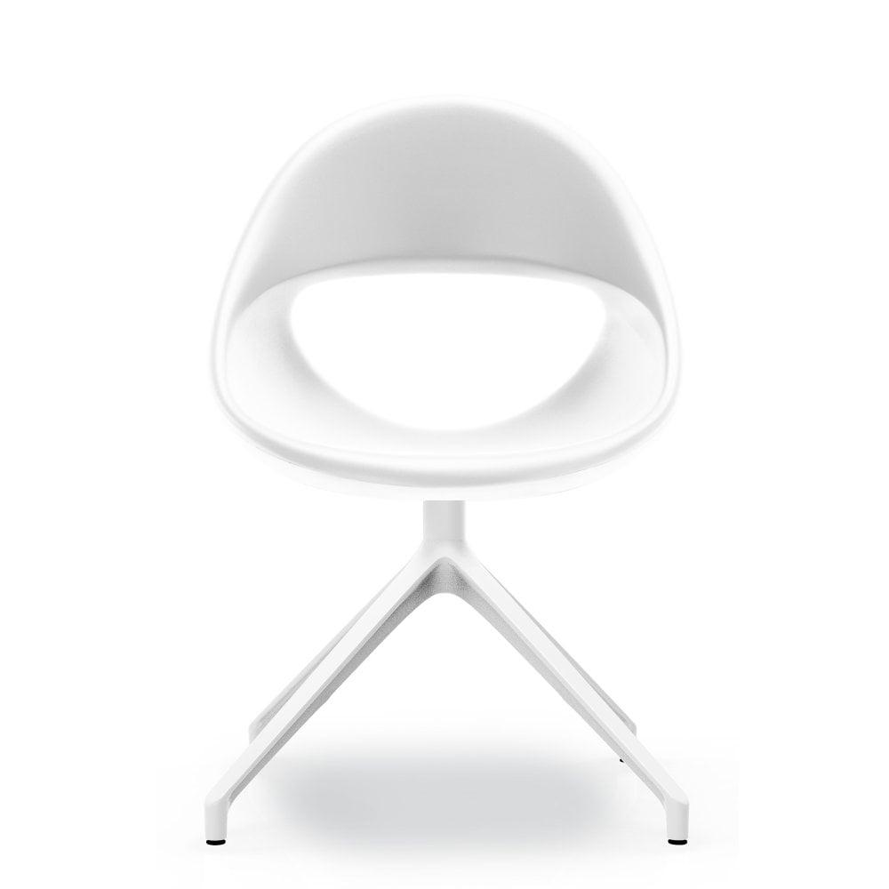 Remarkable Lucky Swivel Dining Chair White Ncnpc Chair Design For Home Ncnpcorg